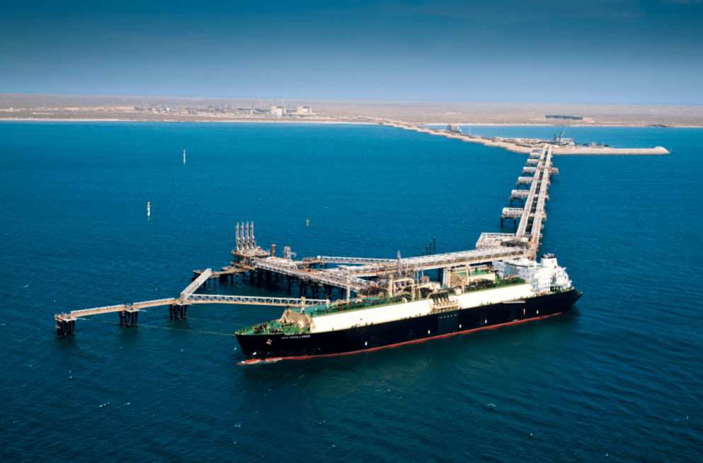 What is Chevron's Gorgon carbon capture and storage project?