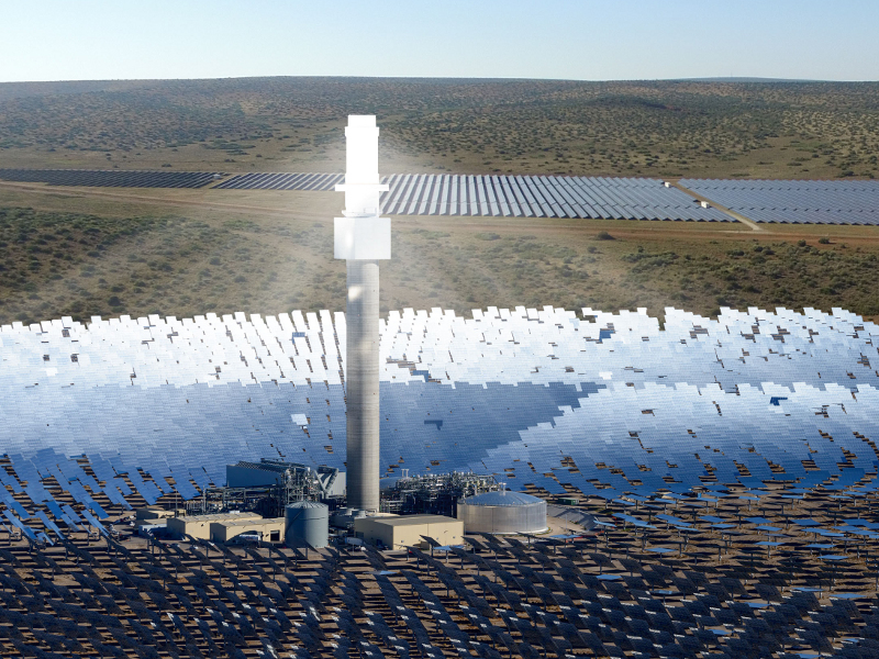 Redstone Concentrated Solar Project