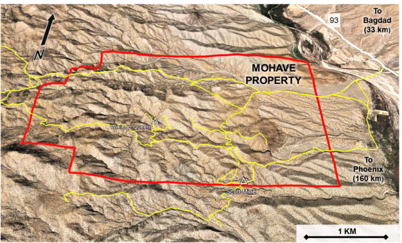 Dunnedin acquires Mohave copper-molybdenum-silver porphyry project in US