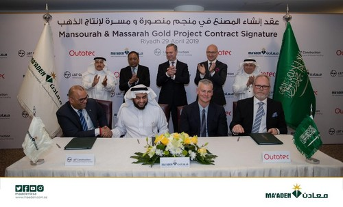 Ma'aden awards contract to L&T consortium for Mansoura and Masra gold project