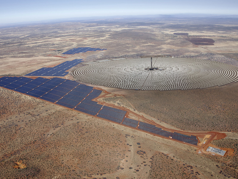 2l-Image---Redstone Concentrated Solar Thermal Power Project
