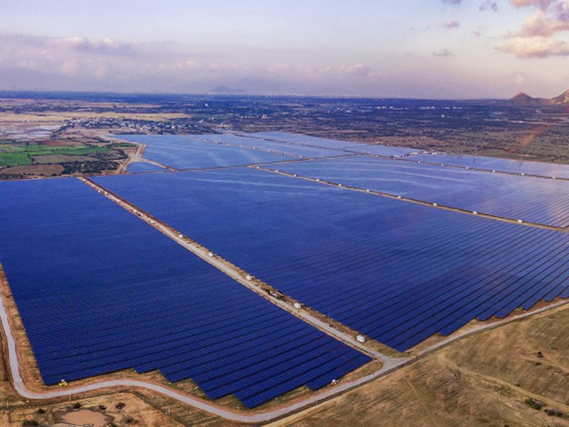 BIM Solar Power Plant, Ninh Thuan Province, Vietnam