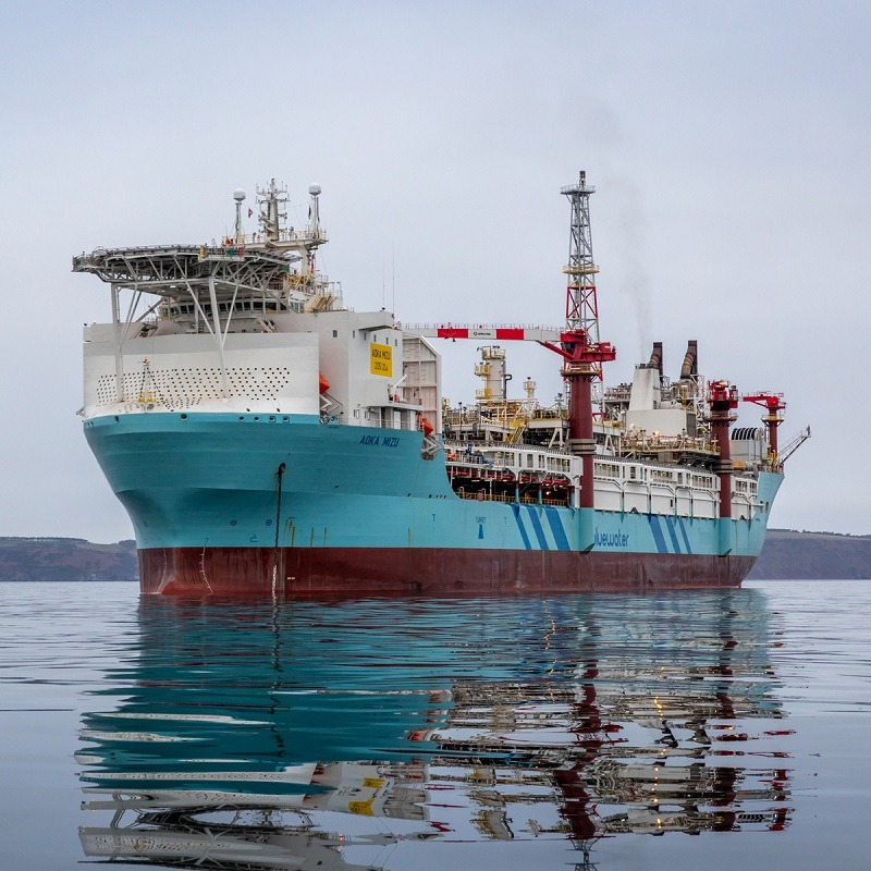 Hurricane says hydrocarbons introduced to Aoka Mizu FPSO