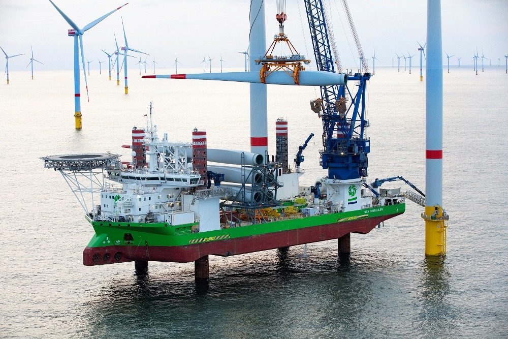 DEME wins €200m turbine installation contract for Hornsea Two offshore wind farm