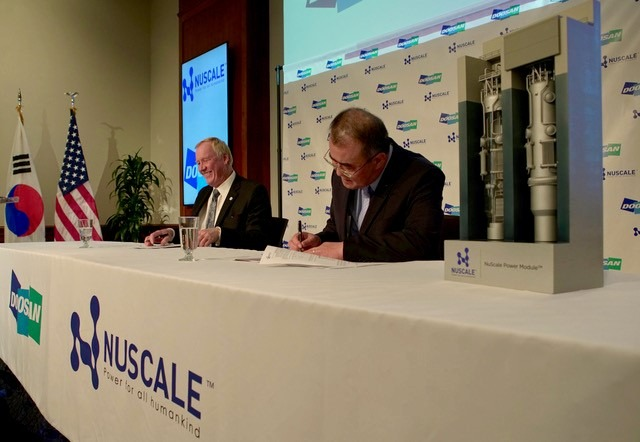 NuScale and DHIC announce strategic cooperation