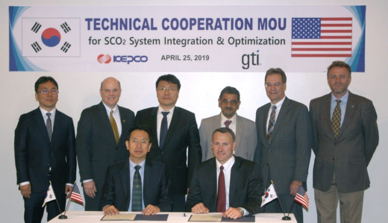 Supercritical CO2 power cycle technology partnership announced