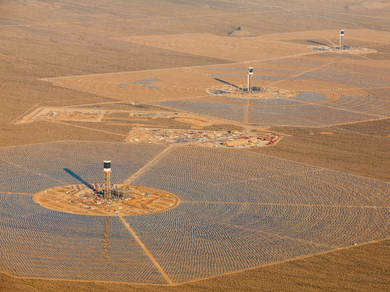 Image 1- Ivanpah Solar Power Facility