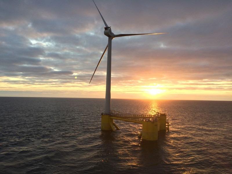 Image 1- Kincardine Floating Offshore Windfarm