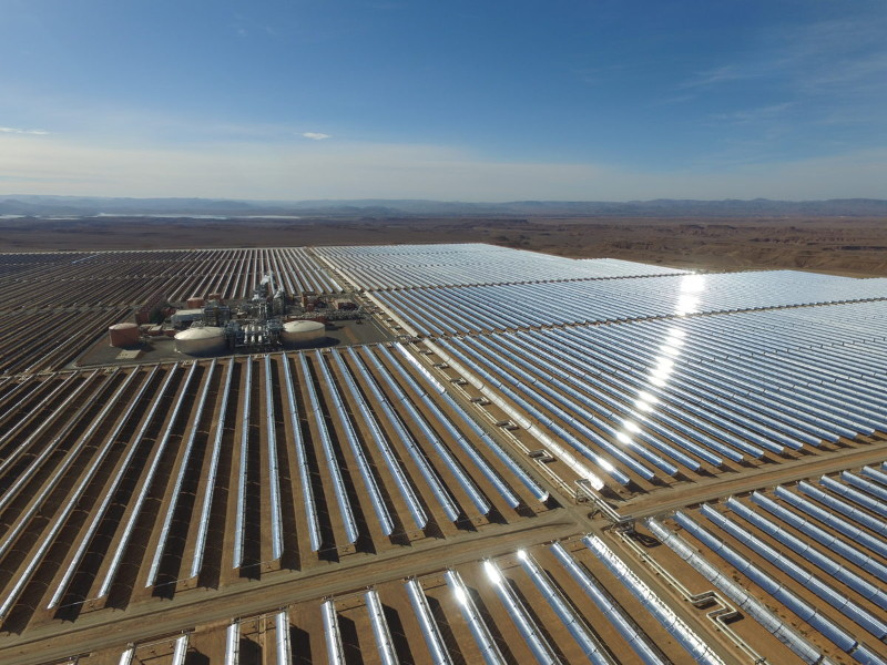 Noor Midelt Solar Power Project, Morocco