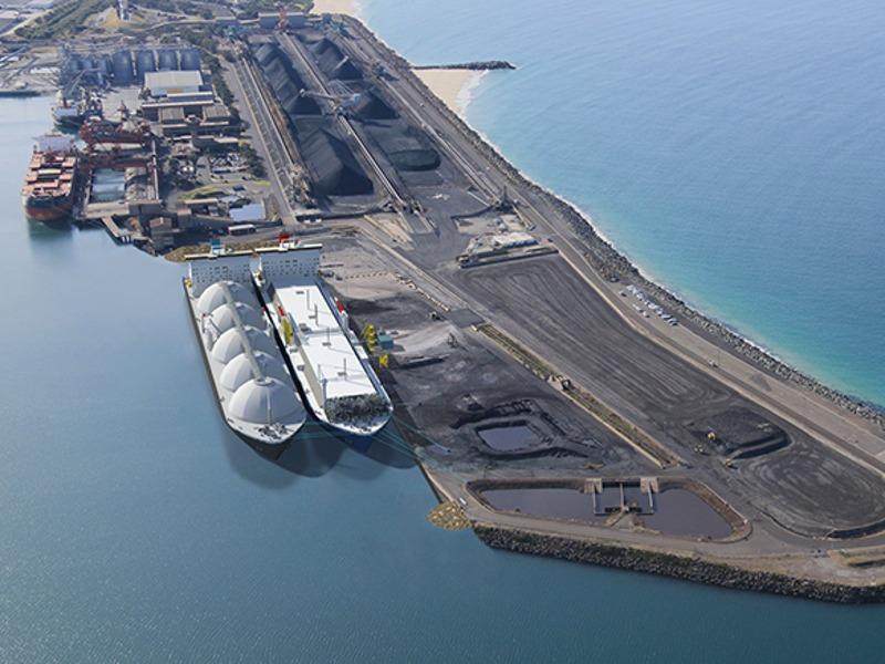Image 1- Port Kembla LNG