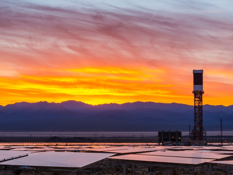 Image 2- Ivanpah Solar Power Facility