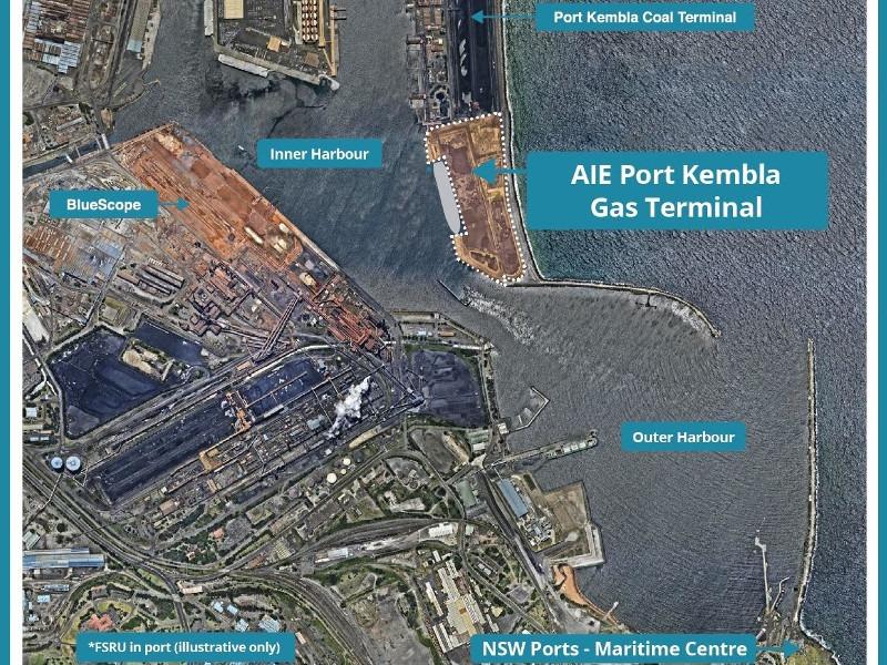 Image 2- Port Kembla LNG