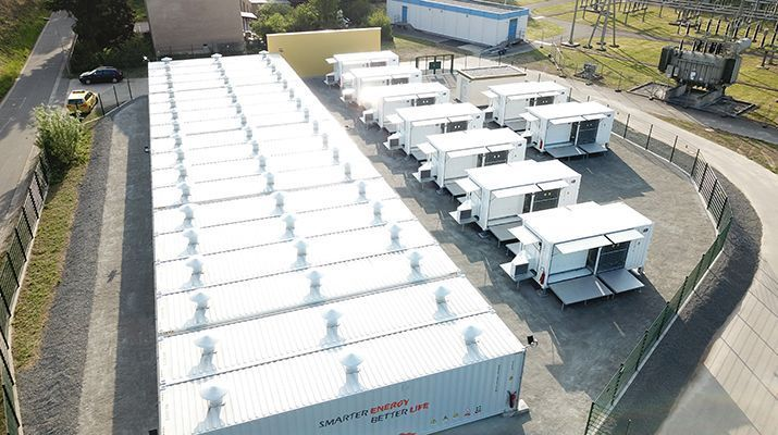 Upside's battery storage system with SMA technology goes live in Saxony, Germany