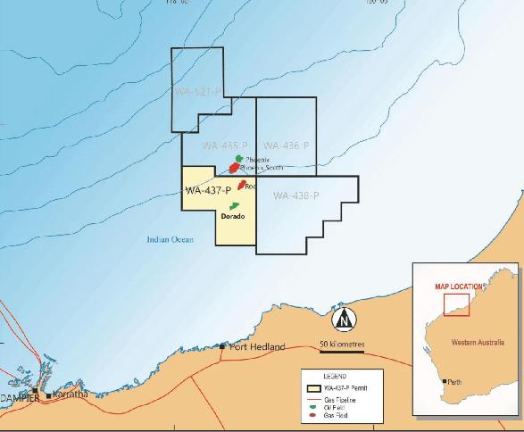Carnarvon Petroleum mobilizes rig for Dorado-2 drilling