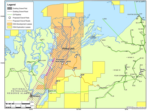 Oil Search receives federal record of decision for North Slope oil project