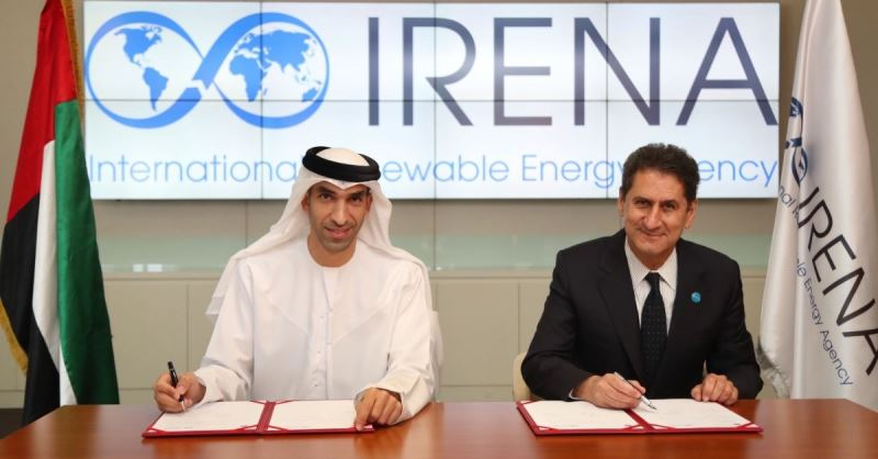 IRENA signs supplementary agreement to headquarters agreement with the UAE