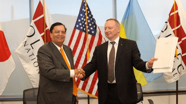 Holtec, Energoatom and SSTC form consortium to deploy SMR-160 in Ukraine