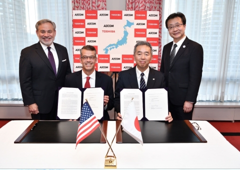 AECOM signs agreement with Toshiba to perform nuclear decommissioning services in Japan