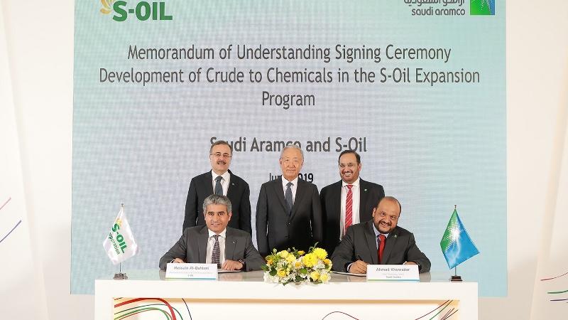Saudi Aramco inaugurates S-Oil's olefin downstream complex in South Korea