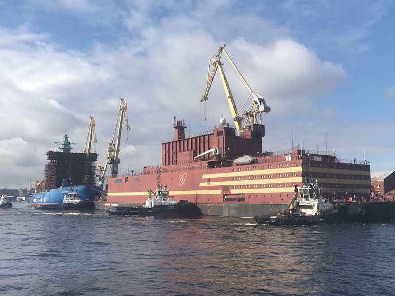 2l-Image---Akademik Lomonosov Floating Nuclear Power Plant