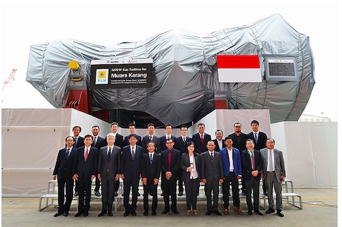 MHPS supplies gas turbine for 500MW gas-fired power plant in Indonesia