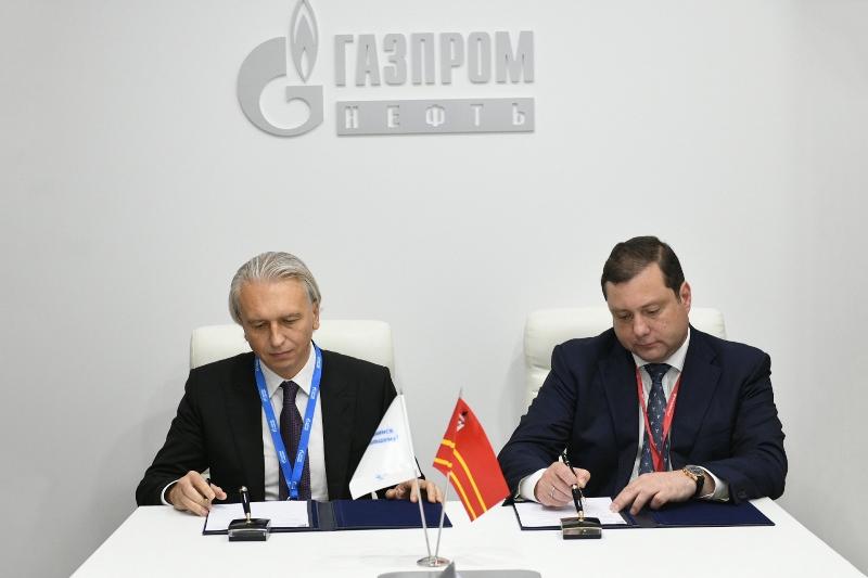 Gazprom Neft to increase supplies of innovative bitumen materials to the Smolensk Oblast