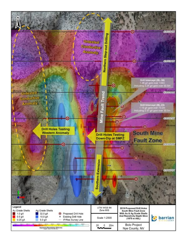 Barrian Mining Corp--Barrian Mining Selects Drill Targets for Up