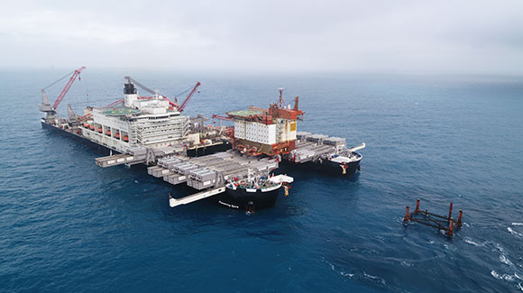 Aker BP completes removal of QP topsides at Valhall oil field complex