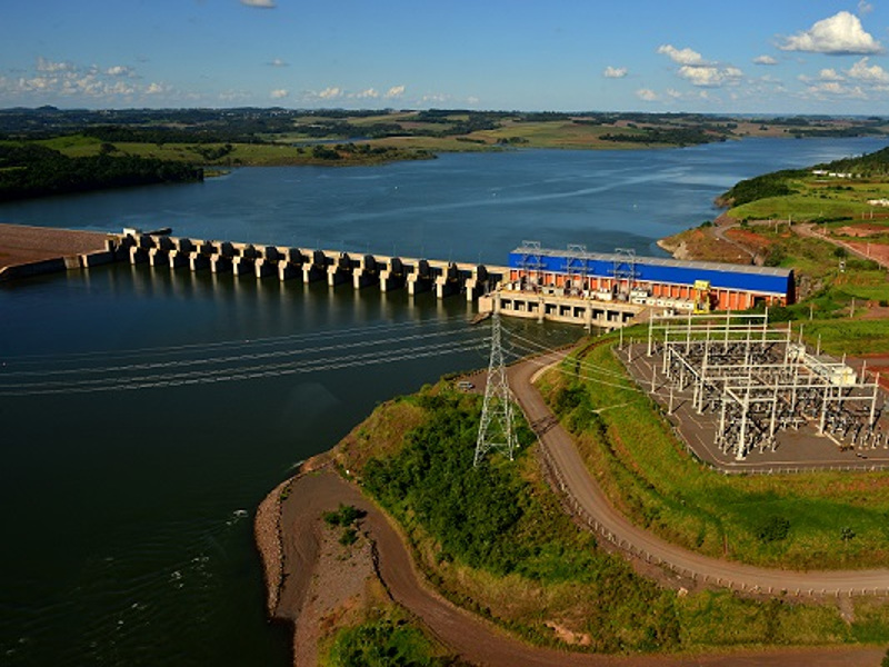 Baixo Iguacu Hydroelectric Power Plant