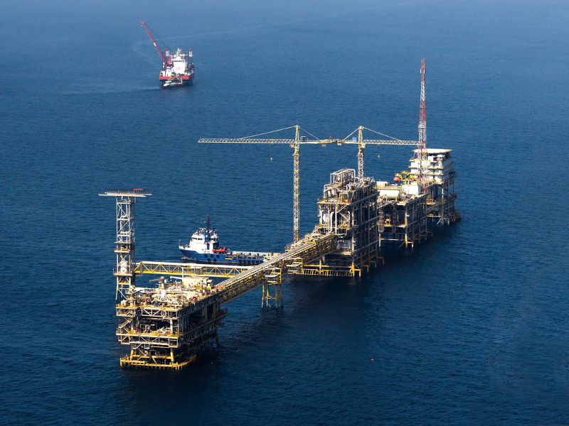 Image 1- Zuluf Oil Field, Saudi Arabia
