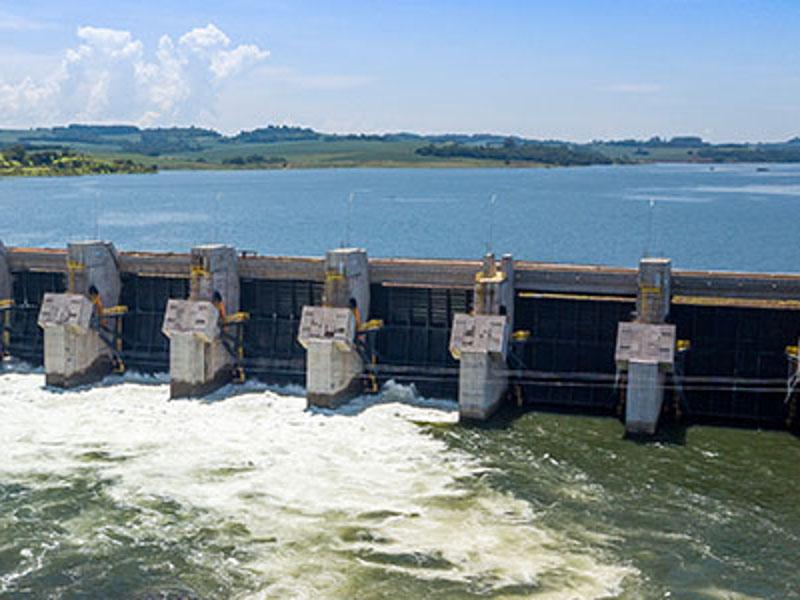 Image 3- Baixo Iguacu Hydroelectric Power Plant, Iguacu River, Brazil