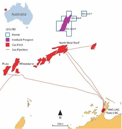 Cue Exploration forms JV to drill Ironbark prospect offshore WA