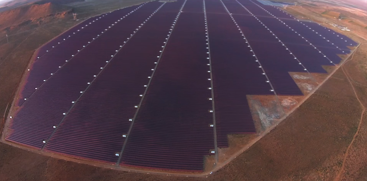 solar farms in south africa