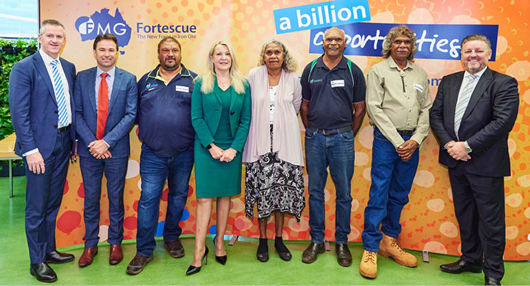 Fortescue awards £98.3m in contracts to Aboriginal businesses