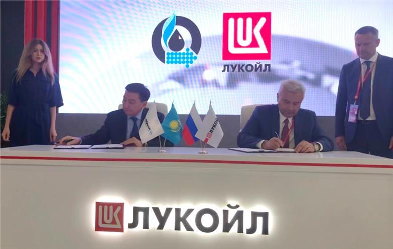 Lukoil signs agreement on project in Kazakh sector of Caspian Sea