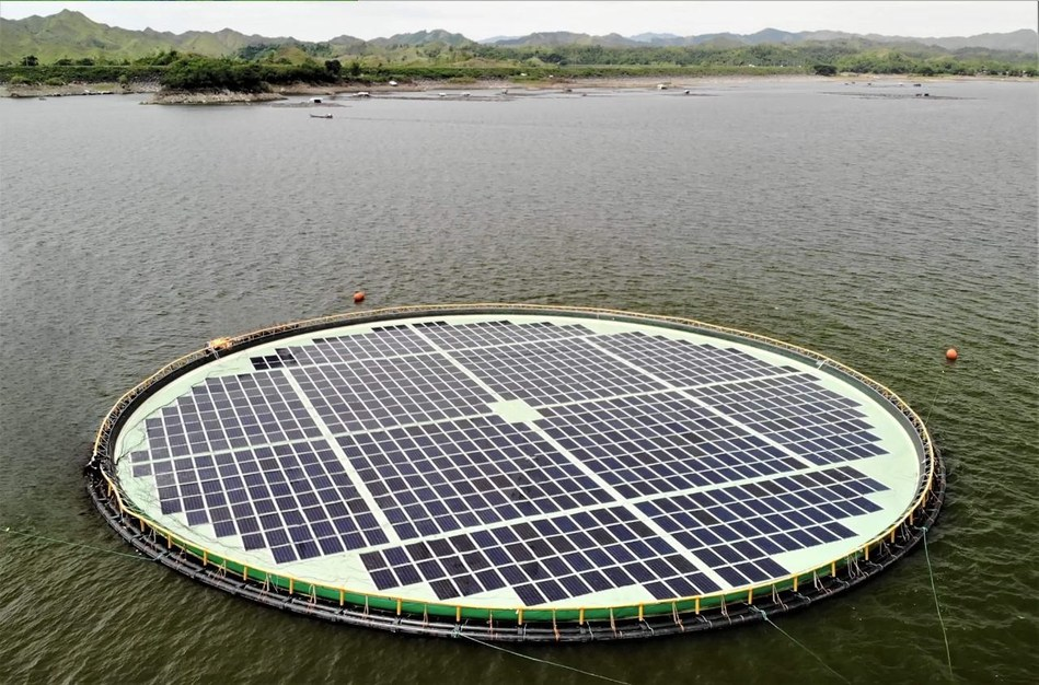 Operations begin at 200kw pilot floating solar project in Philippines