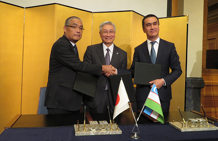 MHPS to support power plant operation and maintenance in Uzbekistan