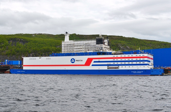 Construction completes on Russian floating nuclear power station Akademik Lomonosov