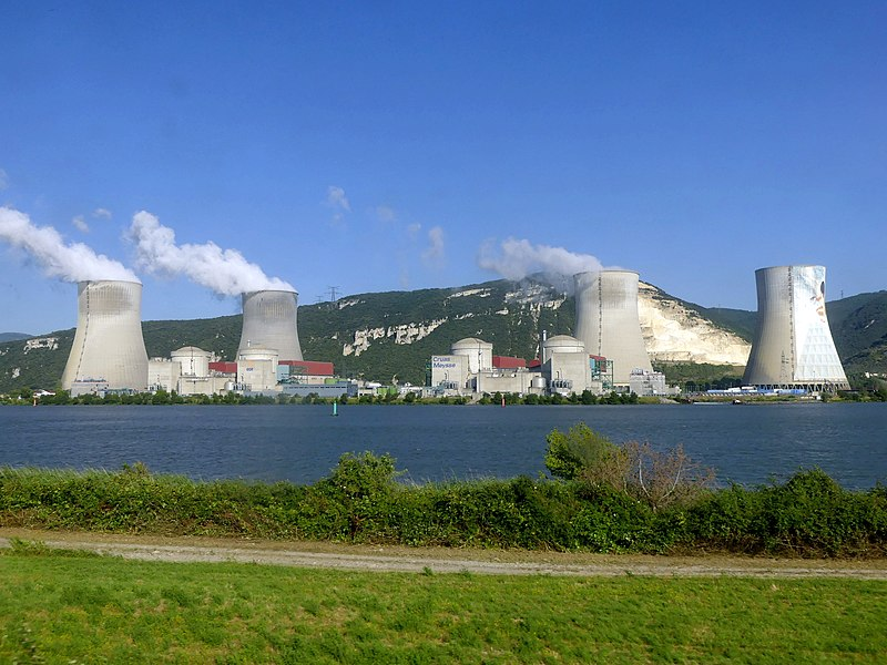 Profiling the top nuclear power plants in France