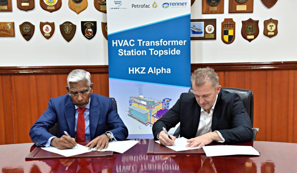 Drydocks World selected to build 700MW HVAC transformer station topside