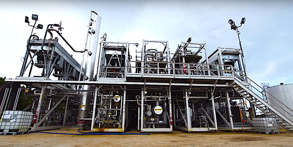 Mabert acquires INFRA Technology's US gas-to-liquids plant