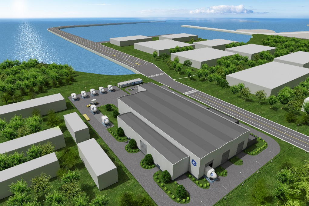 GE to build new offshore wind factory in China