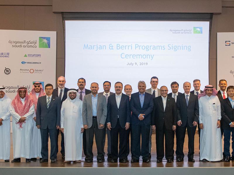 Berri Oil Field Expansion, Arabian Gulf, Saudi Arabia