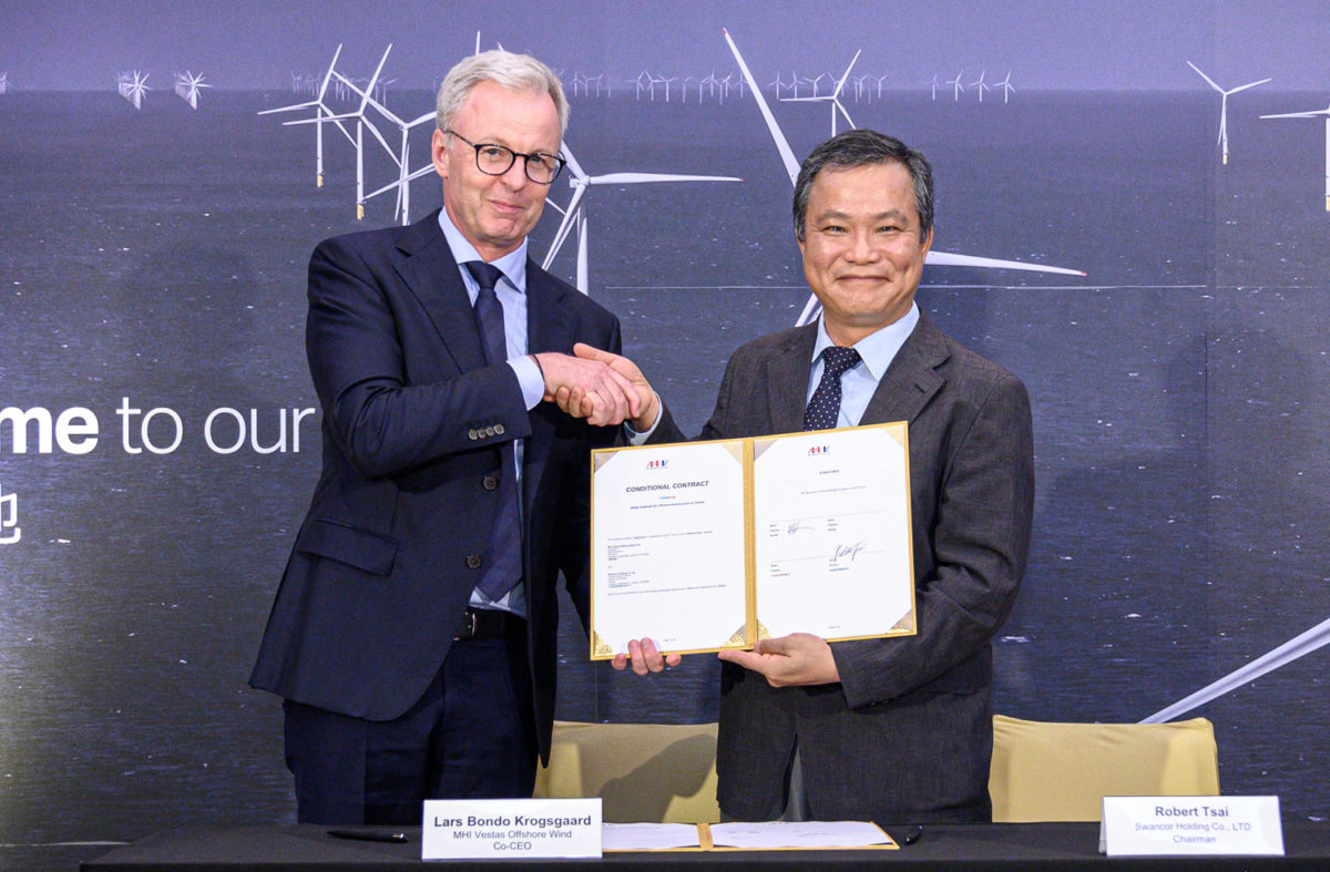 MHI Vestas selects Swancor to build blades for wind turbines in Taiwan