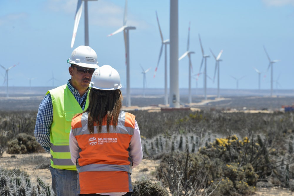 Mainstream wins environmental approval for 222MW wind farm in Chile