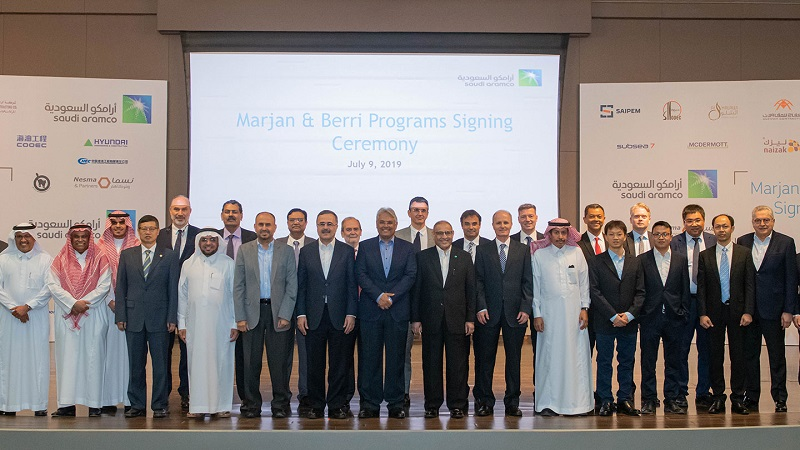 Saudi Aramco awards £14bn contracts for Marjan and Berri increment projects