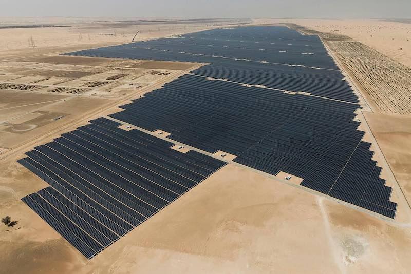 Noor Abu Dhabi solar park