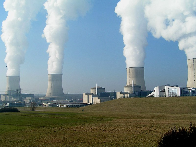 nuclear power plants in france