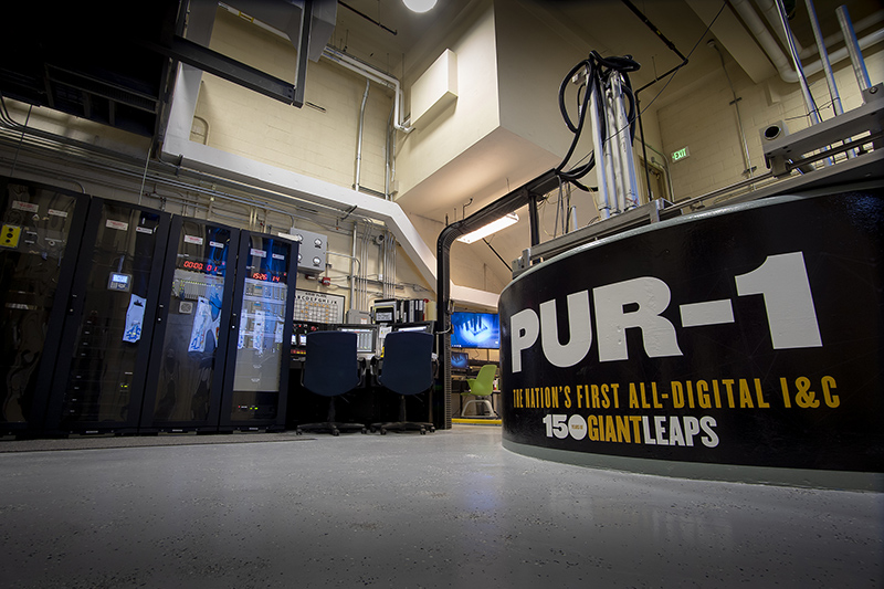 First all-digital nuclear reactor system in US installed at Purdue University