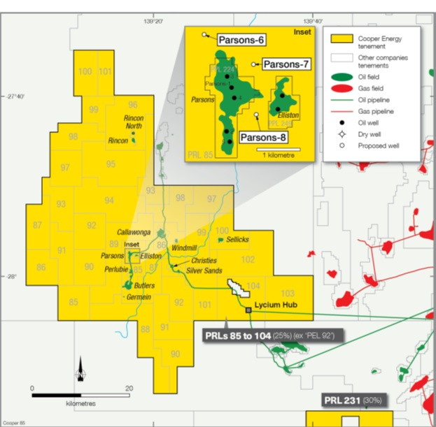 Cooper Energy begins three-well appraisal programme at Parsons field